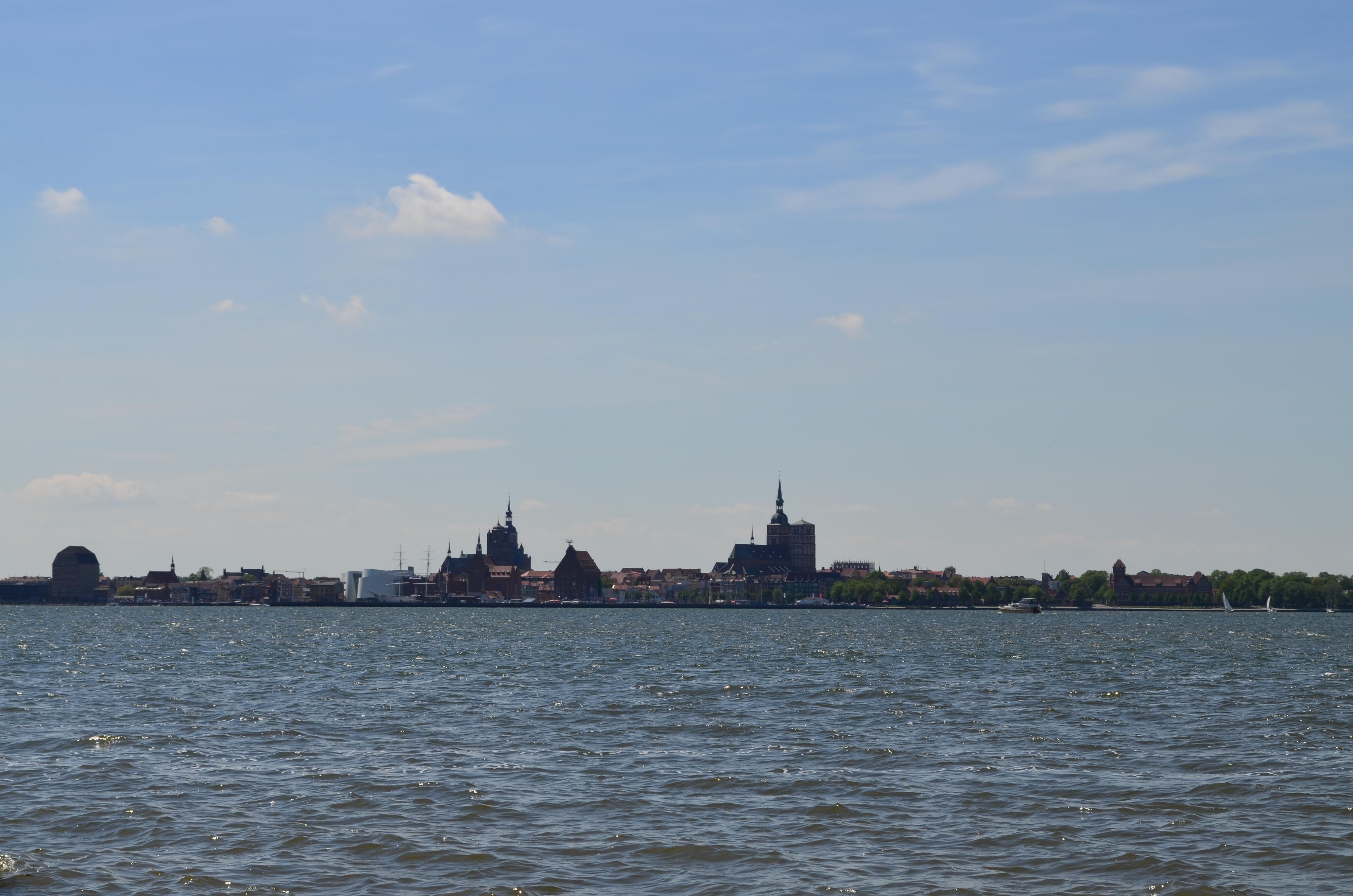 Blick nach Stralsund 1